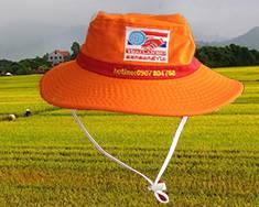 hợp tác sản xuất nón tai bèo công ty CP Hóa Sinh Thái Lan