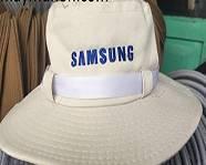 Cơ sở Sản xuất nón tai bèo theo yêu cầu, nón sự kiện công ty SAMSUNG