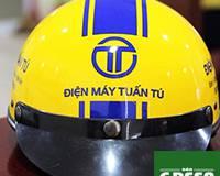 cơ sở sản xuất nón bảo hiểm giá rẻ