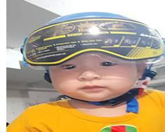 Cách lựa chọn mũ bảo hiểm cho bé an toàn nhất