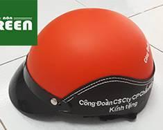 Xưởng sản xuất mũ bảo hiểm in logo giá rẻ
