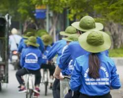 Xưởng may nón tai bèo mùa hè xanh, nón bộ đội giá rẻ TPHCM