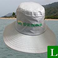 nón tai bèo vfc - tặng nón tai bèo cho nông dân làm hội thảo  ms 04