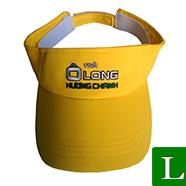 nón nữa đầu, nón thể thao in logo theo yêu cầu tp hcm ms 03