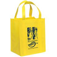túi vải không dệt giá rẻ - in logo lên túi vải giá rẻ tp hcm ms 01