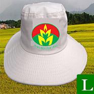 nón tai bèo - cơ sở may nón tai bèo in logo giá rẻ tp hcm ms 13