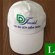 nón lưỡi trai - xưởng may nón kết, nón du lịch, nón lưỡi trai in logo theo yêu cầu giá rẻ tp hcm ms 25