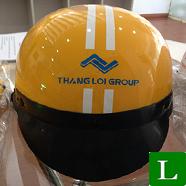 nón bảo hiểm, mũ bảo hiểm in logo theo yêu cầu giá rẻ tp hcm ms 28