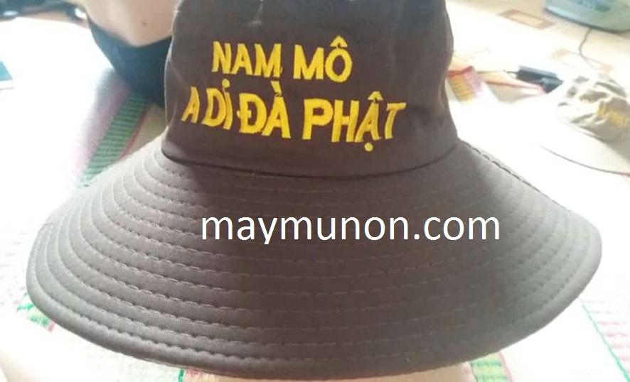 mũ tai bèo phật tử, mũ adidaphat - xưởng may nón tai bèo đi chùa, nón adidaphat