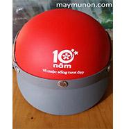 Nón bảo hiểm quảng cáo, nón in logo giá rẻ tại hcm