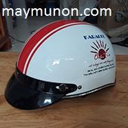 Đặt nón bảo hiểm theo yêu cầu, in logo lên mũ bảo hiểm