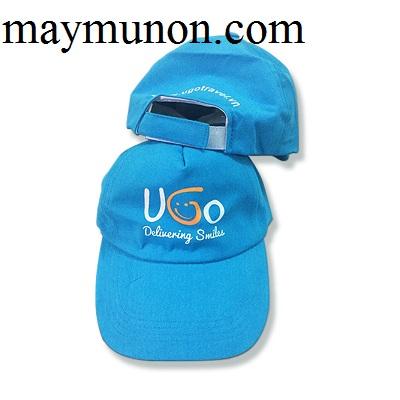 Nón lưỡi trai - nón kết - nón du lịch in logo theo yêu cầu giá rẻ tp hcm ms49