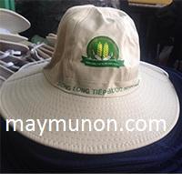 Nón tai bèo, MŨ TAI BÈO in logo giá rẻ tp hcm - CẦN THƠ ms29