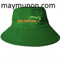 Nón tai bèo, mũ tai bèo in logo làm quà tặng nông dân tp hcm ms30