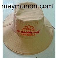 Nón tai bèo, mũ tai bèo in logo giá rẻ tặng nông dân AN GIANG ms31