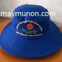 Nón tai bèo, mũ tai bèo in logo tặng nông dân KIÊN GIANG  ms32