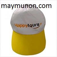 Nón lưỡi trai - nón du lịch giá rẻ in logo tp hcm ms 43
