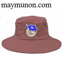 Nón tai bèo - mũ tai bèo IN LOGO giá rẻ TP HCM ms37