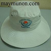 Nón tai bèo - mũ tai bèo in logo gía rẻ theo yêu cầu tp hcm ms40