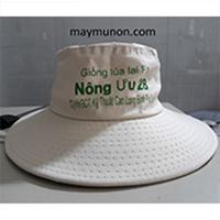 nón tai bèo - xưởng sản xuất nón tai bèo in logo giá rẻ ms 28