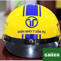 Nón bảo hiểm - đặt nón bảo hiểm in logo giá rẻ nghệ an ms62