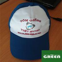Nón lưỡi trai - nón du lịch quảng cáo in logo giá rẻ CẦN THƠ ms56