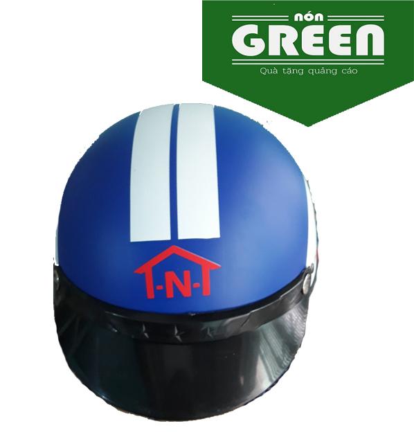 Nón bảo hiểm in logo theo yêu cầu - đặt nón bảo hiểm theo yêu cầu giá rẻ BÌNH DƯƠNG