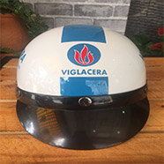 mũ bảo hiểm giá rẻ in logo