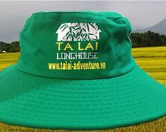 Hợp tác sản xuất nón tai bèo công ty du lịch TÀ LÀI LONG HOUSE