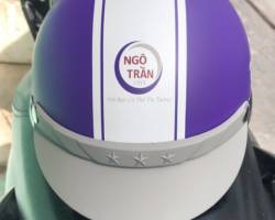 Nón bảo hiểm in logo theo yêu cầu tại TP.HCM