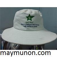Nón tai bèo, mũ tai bèo in logo làm quà tặng nông dân giá rẻ LONG AN ms34