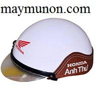Nón bảo hiểm - mũ bảo hiểm thêu da làm quà tặng ms46