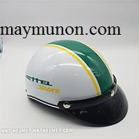 Nón bảo hiểm - xưởng sản xuất nón bảo hiểm in logo quảng cáo ms58