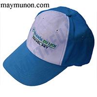 Nón lưỡi trai - nón du lịch giá rẻ in logo ms51