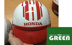 xưởng sản xuất mũ bảo hiểm theo yêu cầu green